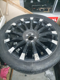 Alloy Wheels and Tyres 275/40/R20