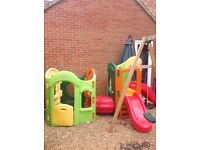 Little Tikes 8 in 1 playground climbing frame
