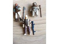 Star Wars Vintage - Three complete original figures with weapons