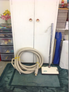 Beam in-house vacuum hose and rug beater