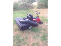 Snapper ride on lawnmower