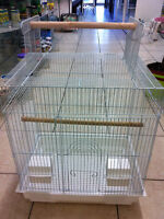 brand new open top cage with extra stand on sale