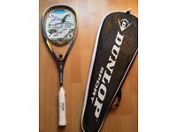 Dunlop 130 Biomimetic Evolution Squash Racket 1 new 1 used ONO