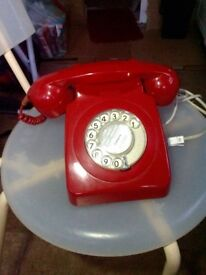 Original 1960' BT 746 Rotary dial Telephone