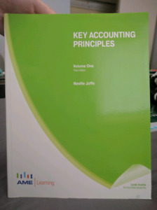 Key Accounting Principles - 3rd edition