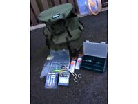 Pike fishing set up