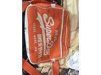 Superdry Orange messenger bag