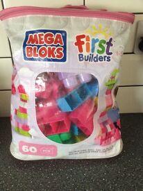Mega bloks first builders pack.
