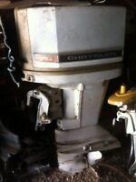 Chrysler 75 hp outboard boat motor