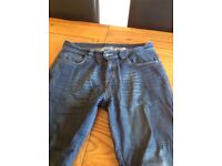 Oxford motorcycle jeans