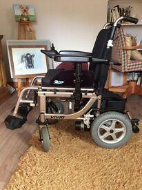 Electric motorised wheel chair. £900