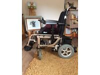 Electric motorised wheel chair. £900