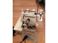 Sewing machine over lock