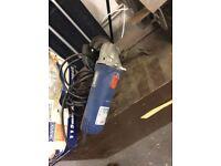 Electric tile cutter / hand held angle grinder / bench angle grinder