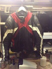 RST men's leather Jacket