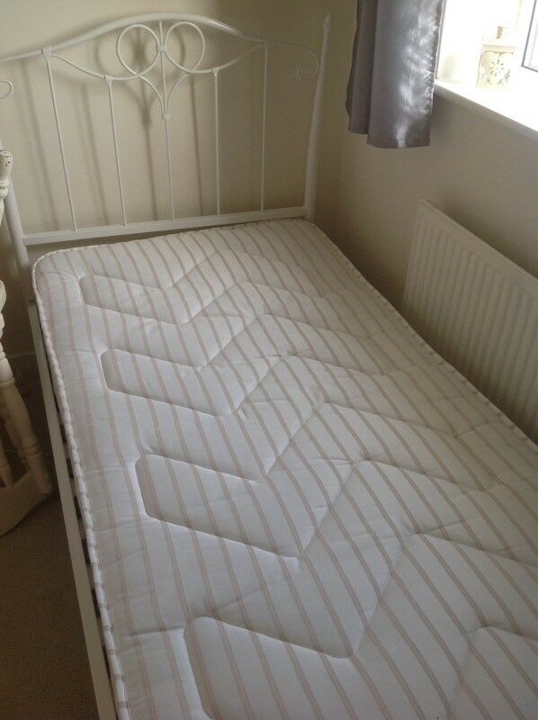 Lovely Cream single bed