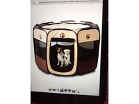 Puppy/small dog play pen