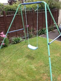 FREE 'kids active' slide & swing