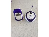 BT digital baby monitor 350 lightshow