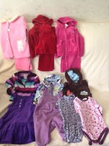 Girls size 18 months  clothing bundle