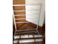 Reduced! Argos Avalon Single white metal bed frame