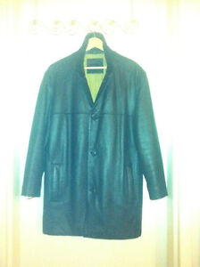 Dockers leather jacket coat, mint condition