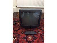 A Black Sony Trinitron Television