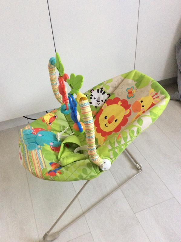 Fisher Price Rainforest Bouncer In Mill End