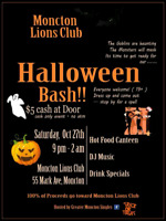 Monctons biggest Halloween party join us