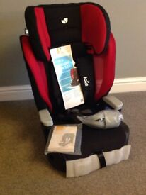 JOIE CAR SEAT SAY HELLO TO ELEVATE GROUP 1/2/3 HARNESSED BRAND NEW IN BOX BRAND: JOIE