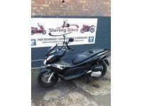 Honda PCX 125 PCX125 FOR SALE 1 YEAR MOT BLACK STERLING