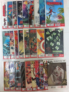 HUGE Deadpool Comic Book Collection Almost Complete + Specials