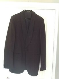 Black men's coat