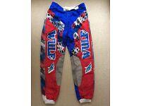 "Wulf Motocross Pants - size 34"" waist"