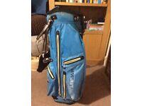Mizuno Aero lite waterproof golf bag.