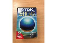 TDK EHG45 PKT2 Tapes