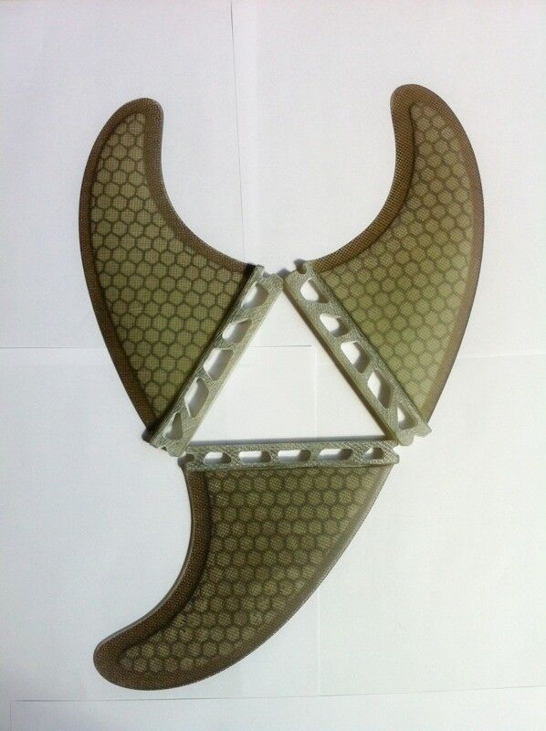 Futures Quad or Thruster sets Surfboard surf fins Black Honeycomb surfing fin Quads/thrusters