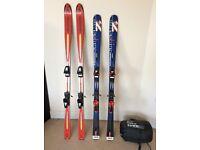 Skis and sleeping bag £50