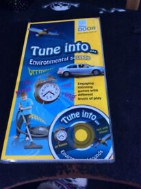 Tune into environmental sounds listening game (photo cards/cd) £5 collection Beighton near Lingwood