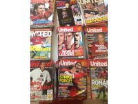 Manchester United monthly magazines