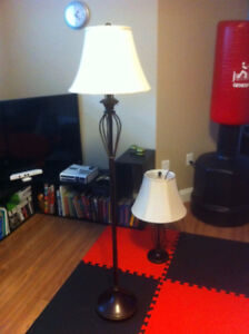 set of 2 lamps in excellent condition
