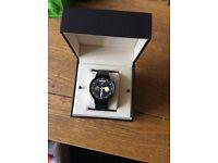 Huawei w1 smart watch black metal strap £210
