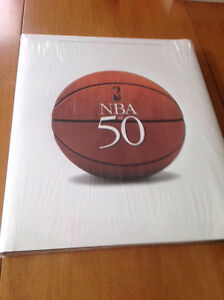 NBA AT 50 years ....coffee table book, new