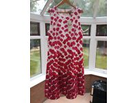NEW Summer dress colourful and glamorous, ideal for that summer occasion