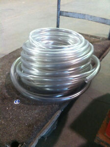 """10 Cases of Clear Rubber 1"""" Hose"""
