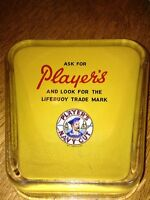 "Vintage ""Players"" Ashtray"