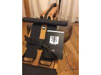 Waterrower made with natural ash