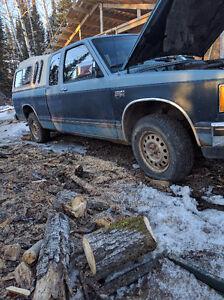 1986 Chevrolet S-10 4X4 Truck