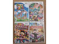 Set of 4 Nintendo Wii Games