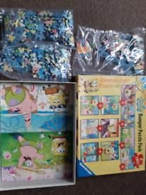 Spongebob 10 jigsaw set